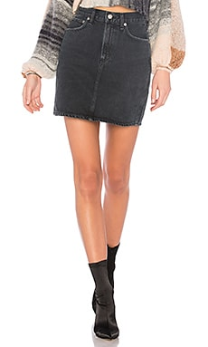 Kat High Rise Pencil Mini Skirt