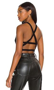 Nova Banded Back Bodysuit AGOLDE $108