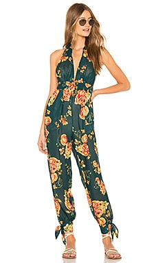 x REVOLVE Josie Jumpsuit Agua Bendita $35 (FINAL SALE)