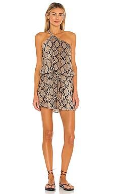 x REVOLVE Afrodita Dress Agua Bendita $150 NEW