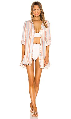 x REVOLVE Crystal Dress Agua Bendita $90