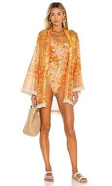 x REVOLVE Juana Kimono Agua Bendita $150 NEW