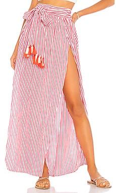 Amaia Skirt Agua Bendita $140