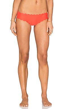 Blossom Party Bikini Bottom in Coral & Orange