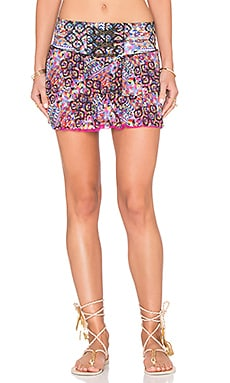 Geometric Desire Bendito Mandala Skirt in Multi