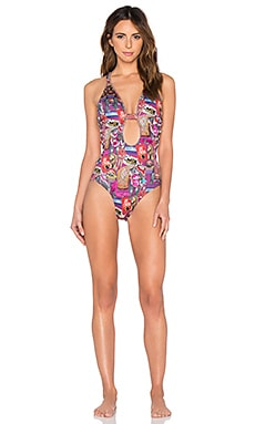 Agua Bendita Dazzling Circus Bendito Espectaculo One Piece in Multi