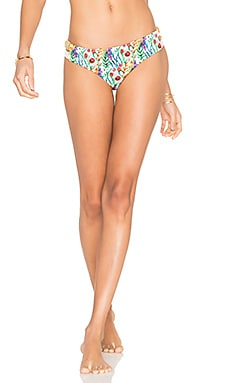 Bendtio Lirio Reversible Bikini Bottom in Floral Spring