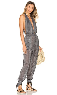 Bonaire Overall in Grey