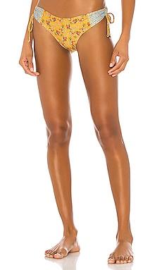 X REVOLVE Zoe Bikini Bottom Agua Bendita $80 NEW ARRIVAL