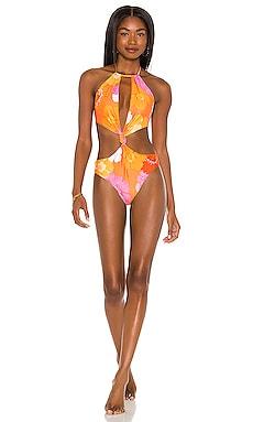 X REVOLVE Tutti One Piece Bikini Agua Bendita $143