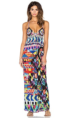 Agua Bendita Geometric Desire Bendito Trama Dress in Multi