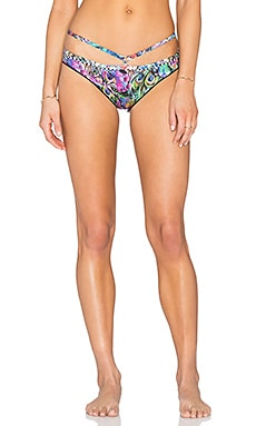 Agua Bendita Exotic Animals Bendito Especie Bikini Bottom in Mullti