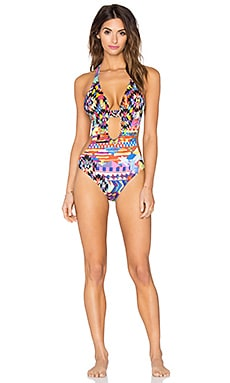 Geometric Desire Bendito Trama One Piece in Multi