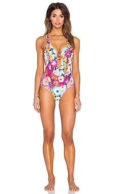 Blossom Party Bendito Violeta One Piece in Multi