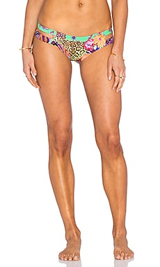 Dancing Butterflies Bendito Monarca Bikini Bottom in Multi
