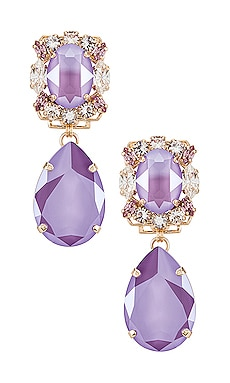Crystal Drop Earring Anton Heunis $216 Sustainable