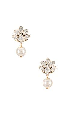 Pedant Crystal Cluster Earrings Anton Heunis $90 Wedding
