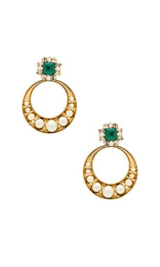 Gemcluster Removable Hoops Anton Heunis $104