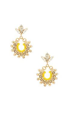 Hoop Earrings With Agate Anton Heunis $135