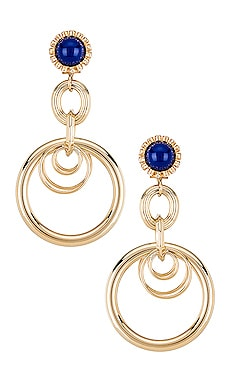 Large Ring Earrings Anton Heunis $54