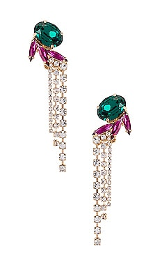 Crystal Wings Tassel Earring Anton Heunis $158