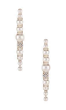 Post Pearl Cluster Earring Anton Heunis $143