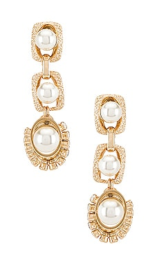 Pearl Drop Earrings Anton Heunis $138