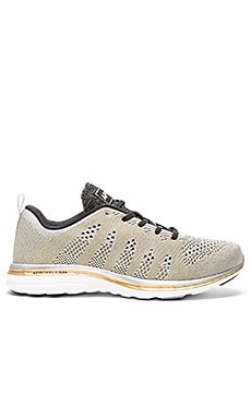 Athletic Propulsion Labs: APL TechLoom Pro in Silver & Gold & Black