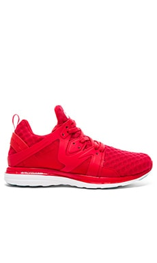 Athletic Propulsion Labs: APL Ascend in Red & Metallic Silver