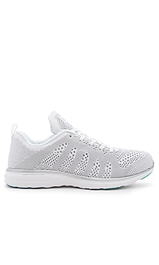 Athletic Propulsion Labs: APL TechLoom Pro in White & Silver