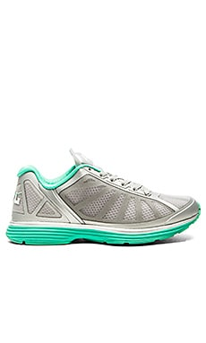 Athletic Propulsion Labs: APL Windchill Sneaker en Silver & Mint