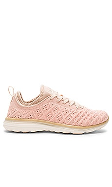 TechLoom Phantom Sneaker in Blush & Cream