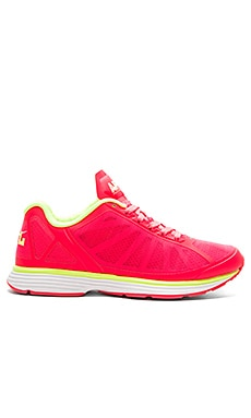 Athletic Propulsion Labs: APL Windchill Sneaker in Rose & Energy