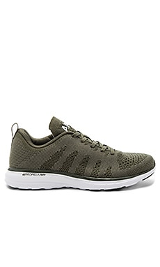 Techloom Pro Cashmere Sneaker in Fatigue Cashmere