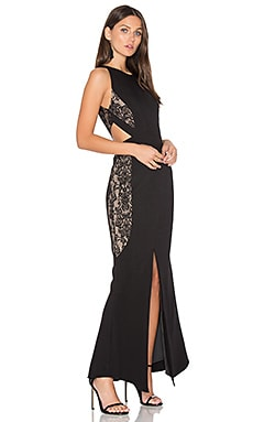 Arabella Cut-out Maxi Dress
