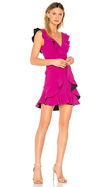 Verona Ruffled Dress aijek $157