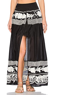 Andrea Maxi Skirt in Black