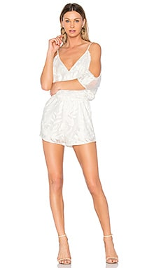Titian Cold Shoulder Romper