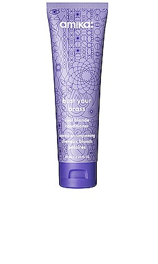 Travel Bust Your Brass Cool Blonde Conditioner amika $12