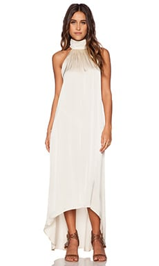Aila Blue Jelita Maxi Dress in Nude