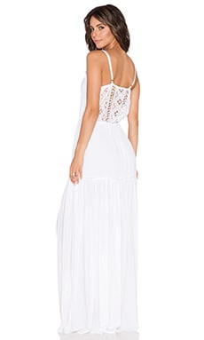 Aila Blue Veuve Maxi Dress in White