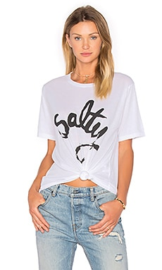 Aila Blue x Peppa Hart Salty Oversize Tee in White