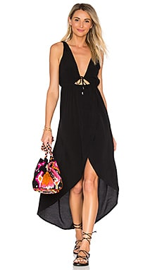 Satellite Maxi Dress in Black