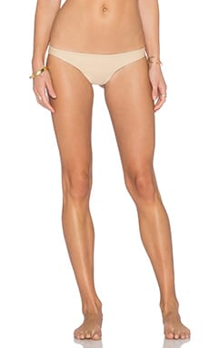 Aila Blue Ocean Bikini Bottom in Sandy