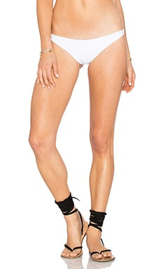 Shelter Bikini Bottom in White