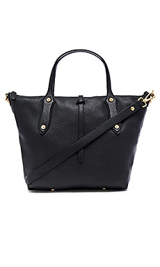 Large Cloudia Satchel en Noir