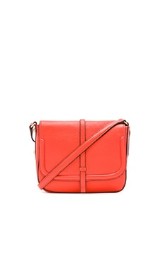 Annabel Ingall Allysin Saddle Bag in Coral