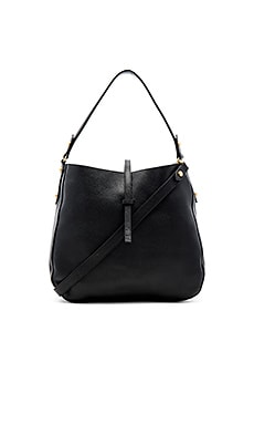 Brooke Hobo Bag in Schwarz
