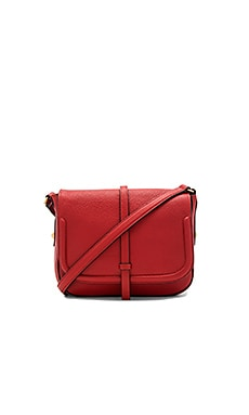 Allysin Saddle Bag en Framboise