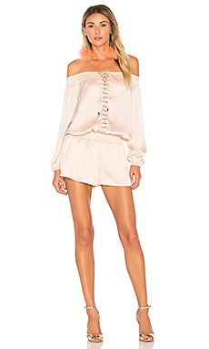 Portia Off the Shoulder Playsuit